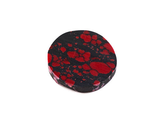 Reconstituted Stone Spacer Red And Black