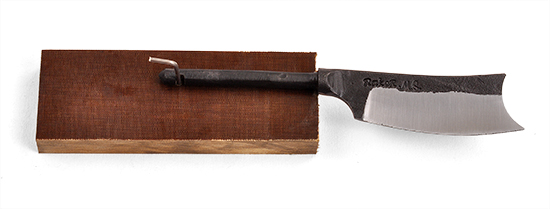 Ray Kirk's Hand Forged Patch Knife Kit